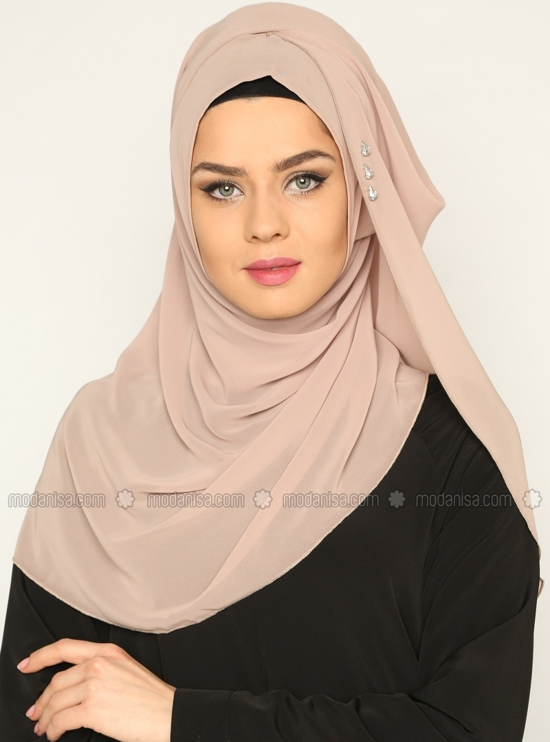 ready turban - Mink