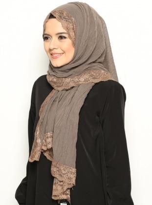 Lace Shawl - Mink