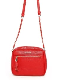 Çanta - Kırmızı - Pierre Cardin Çanta