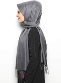 Double Sided Scarf - Gray - Mervin Sal