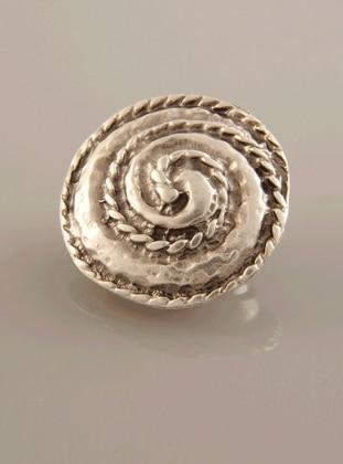 Fsg Takı Gümüş Kaplama Mıknatıslı Broş