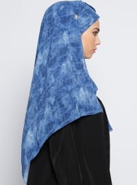 Semi Instant Shawl - Light Blue
