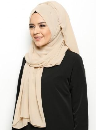 Alya Shawl - Buff - Argite Esarp
