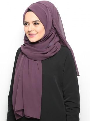 Alya Shawl - Plum - Argite Esarp