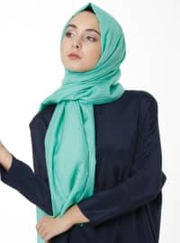 Cotton Silk Road Shawl - Mint - Esarp
