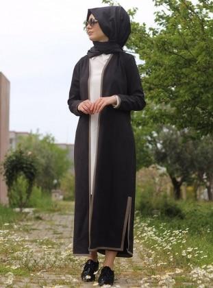 Nurbanu Kural Beren Kap - Siyah