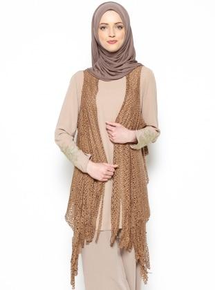 Lilyum Vest - Camel