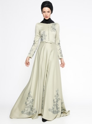 Açelya Abiye Elbise - Mint Minel Aşk