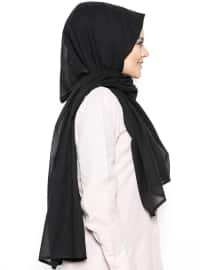 Cotton Shawl - Black