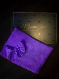 Fringe - Purple - Shawl