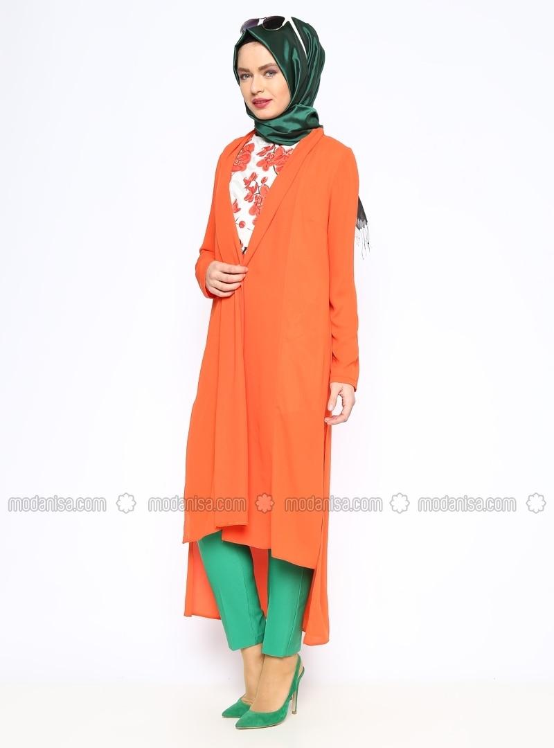 Cardigan - Orange - Missmira