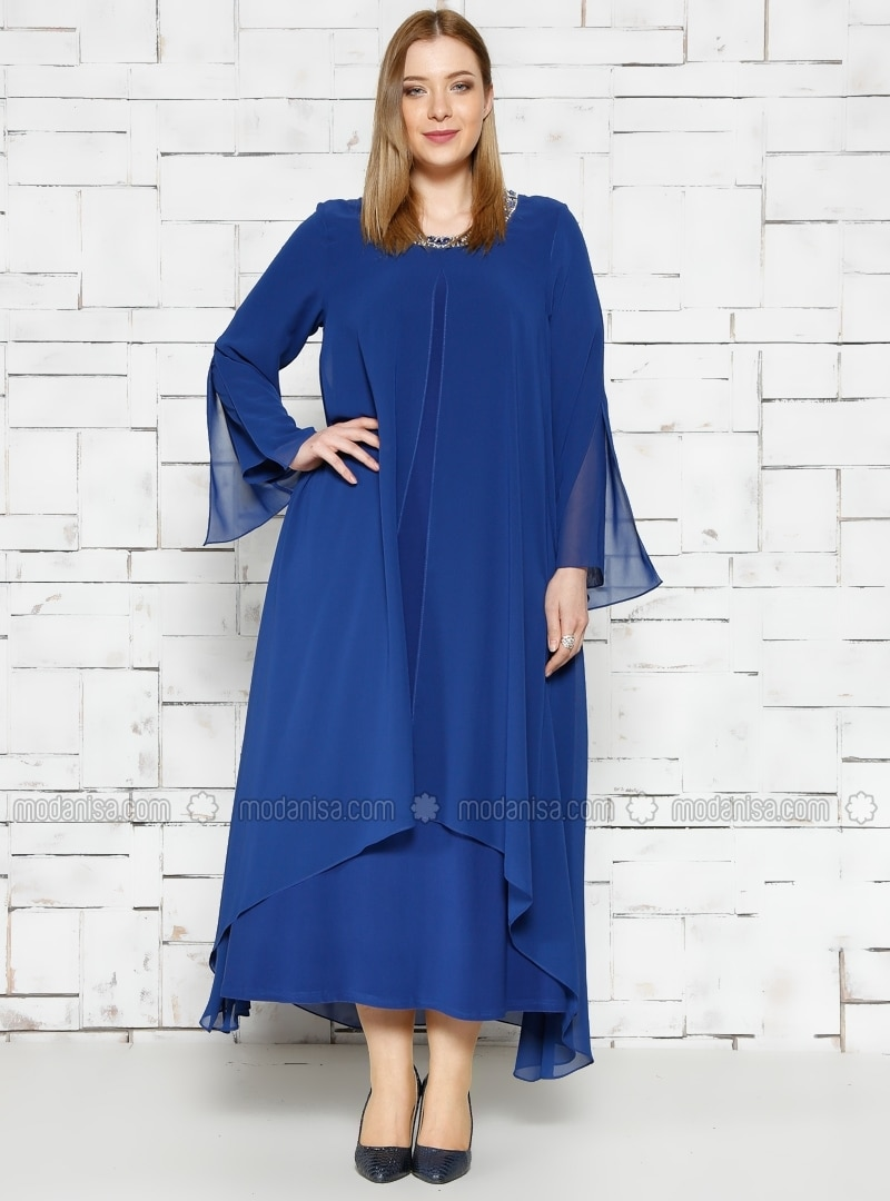 on sale ea460 b668c Große Größen Abendkleid