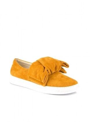 Ayakkabı - Hardal