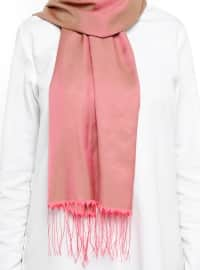 Double Sided Scarf - Pink - Mervin Sal