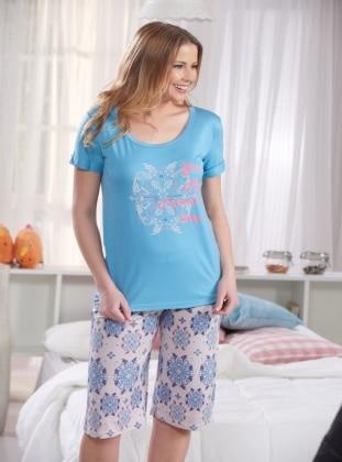 Pijama - Mavi