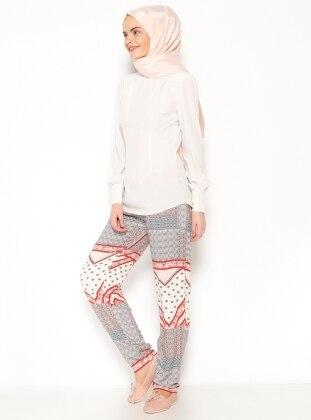 Cepli Pantolon - Mercan Missmira