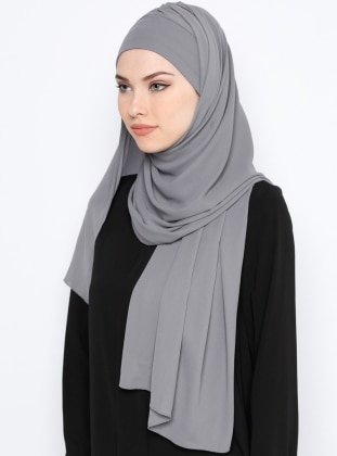 Semi-Instant Shawl - Gray