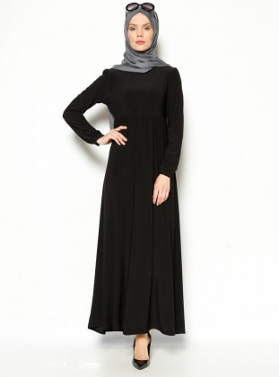 Robadan Elbise - Siyah Topless