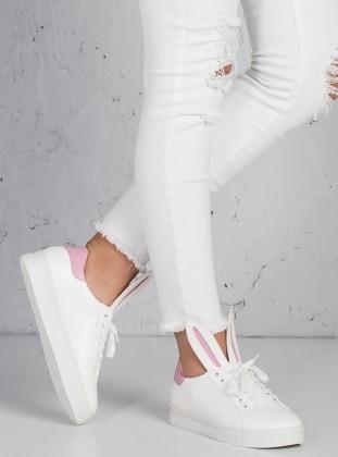 Ayakkabı - Beyaz - Zenneshoes Ürün Resmi