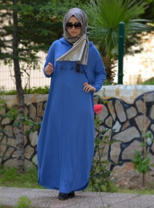 Tuğba Elbise - Mavi