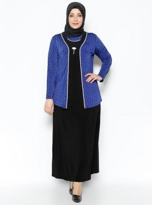 Ceket&Elbise İkili Abiye Takım - Saks Metex