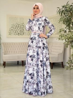 Zambak Elbise - Bebe Mavisi