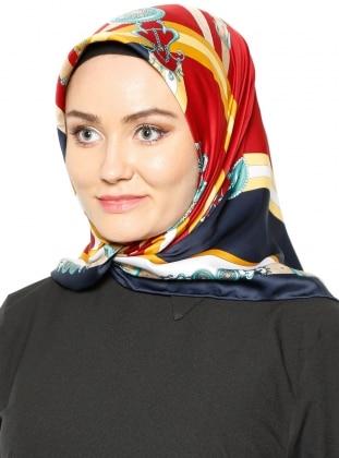 Rayon Eşarp - Karışık Renkli Gülsoy