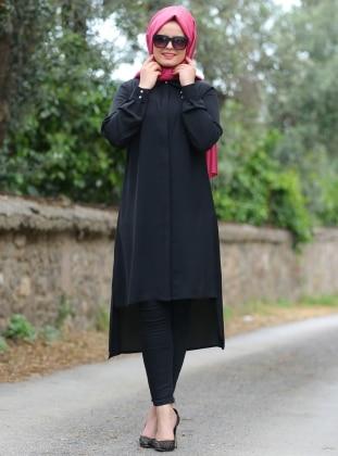Saliha Bonita Tunik - Siyah