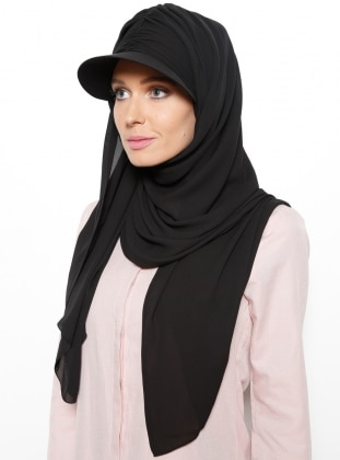 Semi Instant Shawl - Black