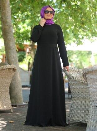 Sade Elbise - Siyah