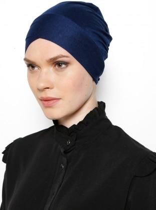Lace up - Navy Blue - Bonnet