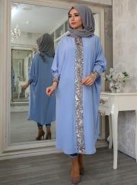 Ferace Tunik - Mavi