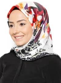 Rayon Eşarp - Karışık Renkli - Aker Sport