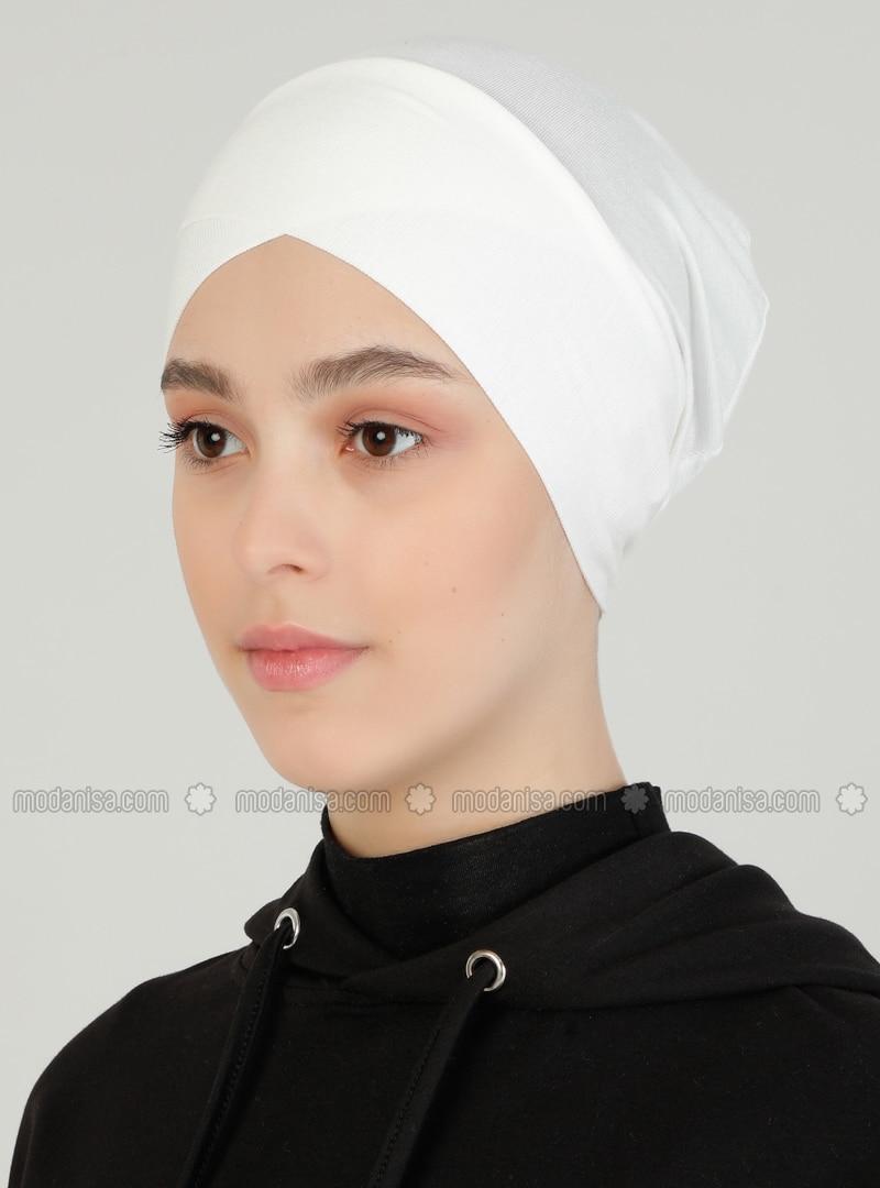 Lace up - Ecru - Bonnet