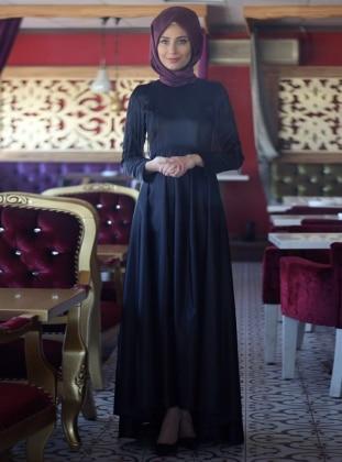Zümra Abiye Elbise - Siyah