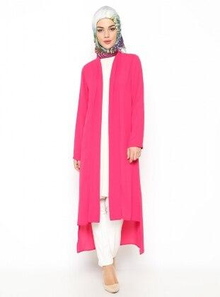 Long Cardigan - Pink - Missmira 219790