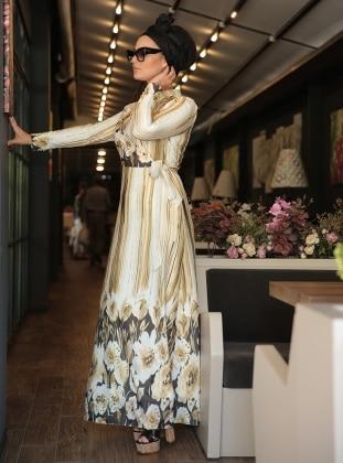 Asya Elbise - Sarı