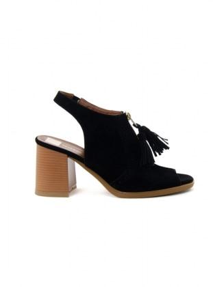 abiye ayakkabı - siyah - ayakkabı havuzu