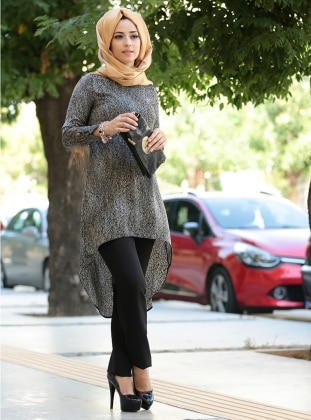 Lina Tunik - Siyah Zehrace