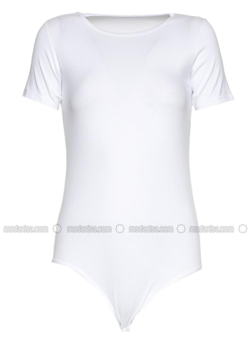 White - Cotton - Corset