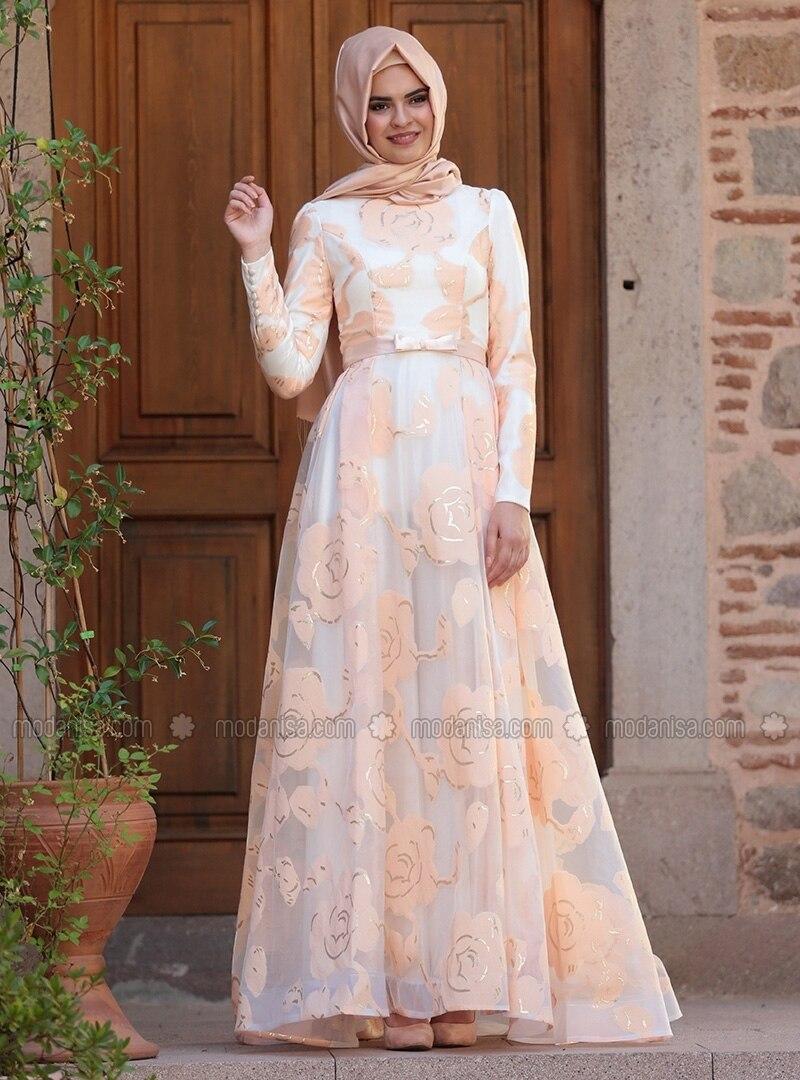 Kleid Kleid Lachsfarben Hidschab Hidschab Hidschab Lachsfarben l1JTFKc