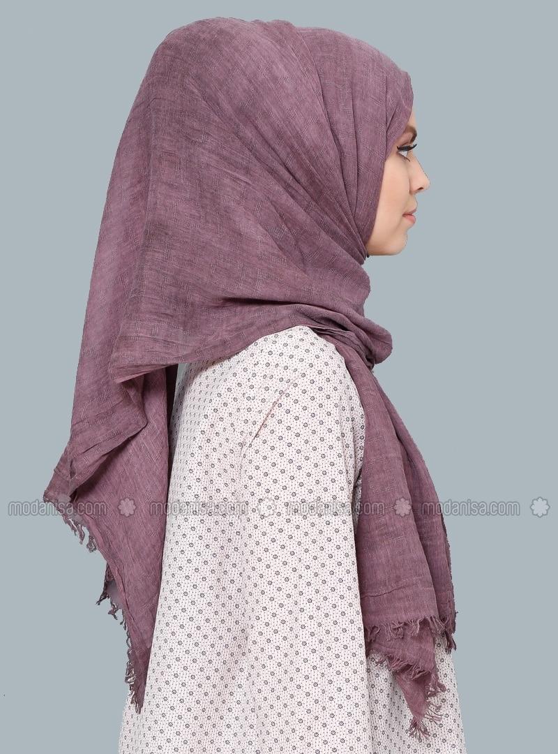 wash soft cotton scarf purple tuva sal
