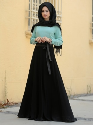 Filiz Bluz - Mint ZEVORA BY ZEHRACE