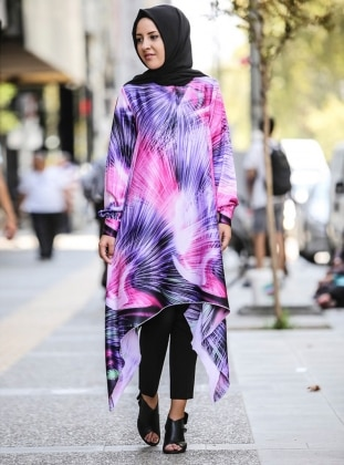 Authentic Tunic - Purple - Nurgul Cakir