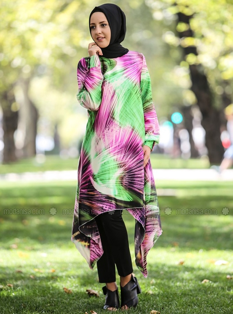 Authentic Tunic - Green - Nurgul Cakir