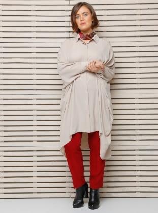 Alia Klasik Pantolon - Bordo