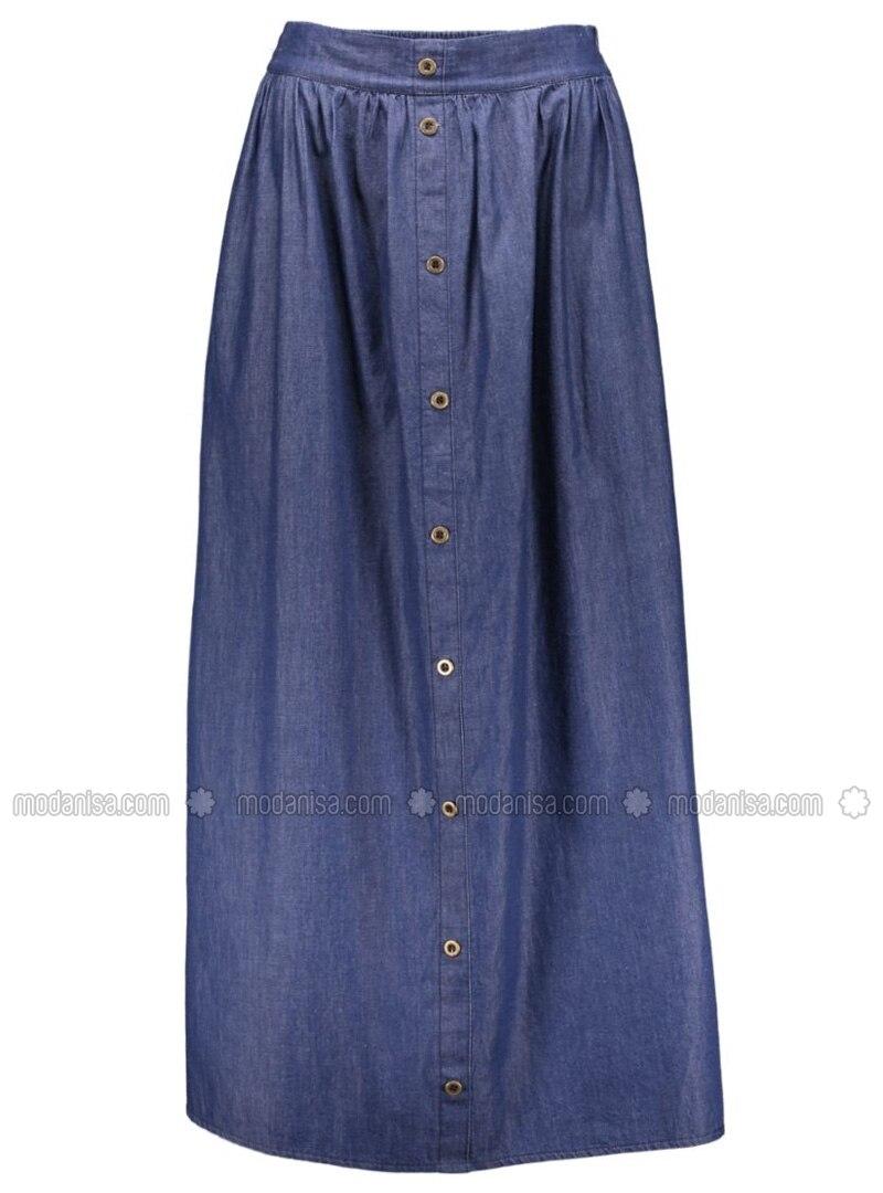 denim skirts navy blue benin