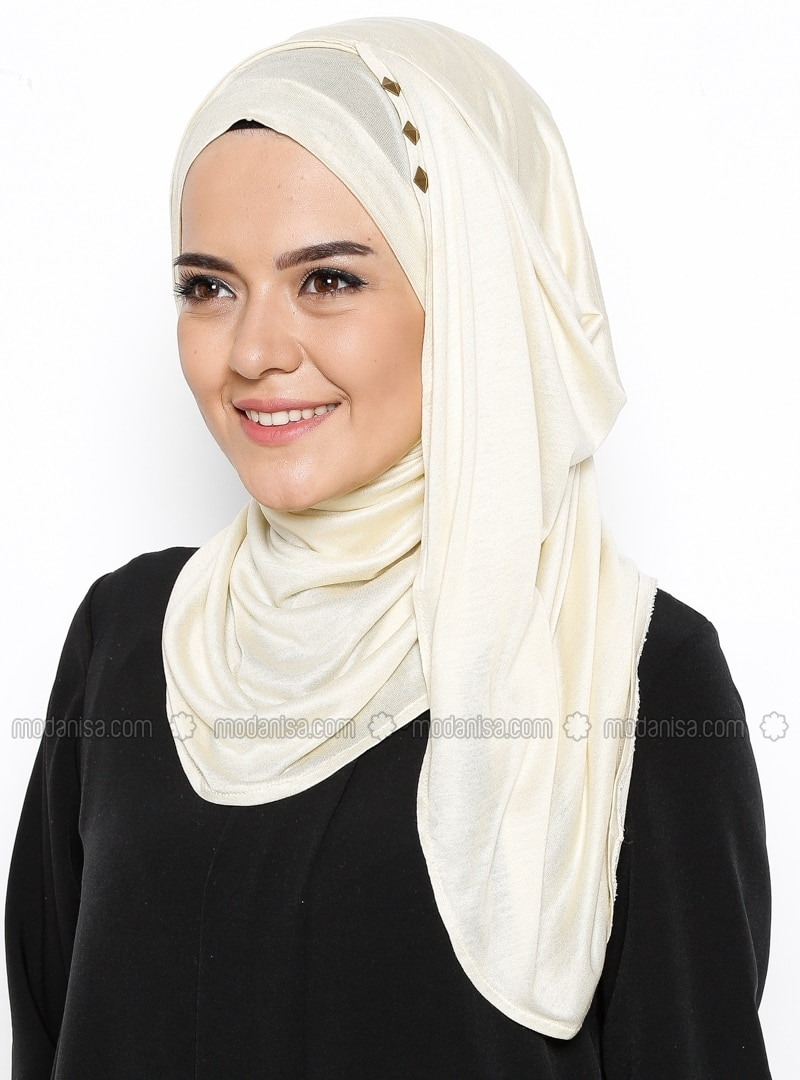 ready turban - Beige
