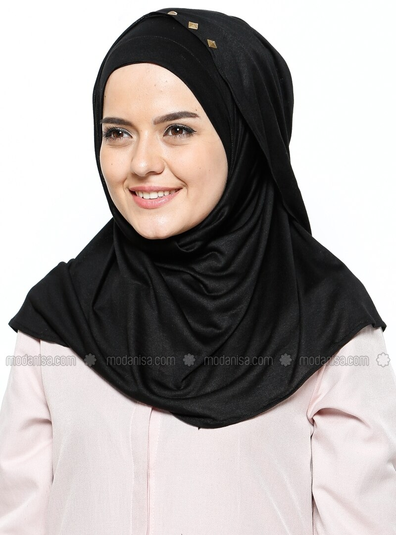 ready turban - Black