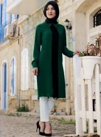 Orange - Round Collar - Green - Round Collar - Tunic